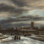 A rare winterscene by Jacob van Ruisdael now joins our collection! Please find more information on https://t.co/BtFpp6wHNc @TEFAF