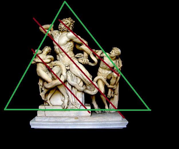 El grupo escultórico se define a partir de una pirámide y de tres diagonales que atraviesan toda la escultura. #storart1  #MGP https://t.co/VOpKDGoQxx