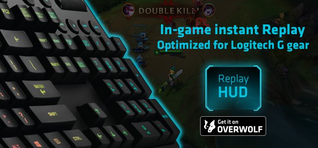 Overwolf On Twitter Rock Your Logitechg Gear With Replay Hud