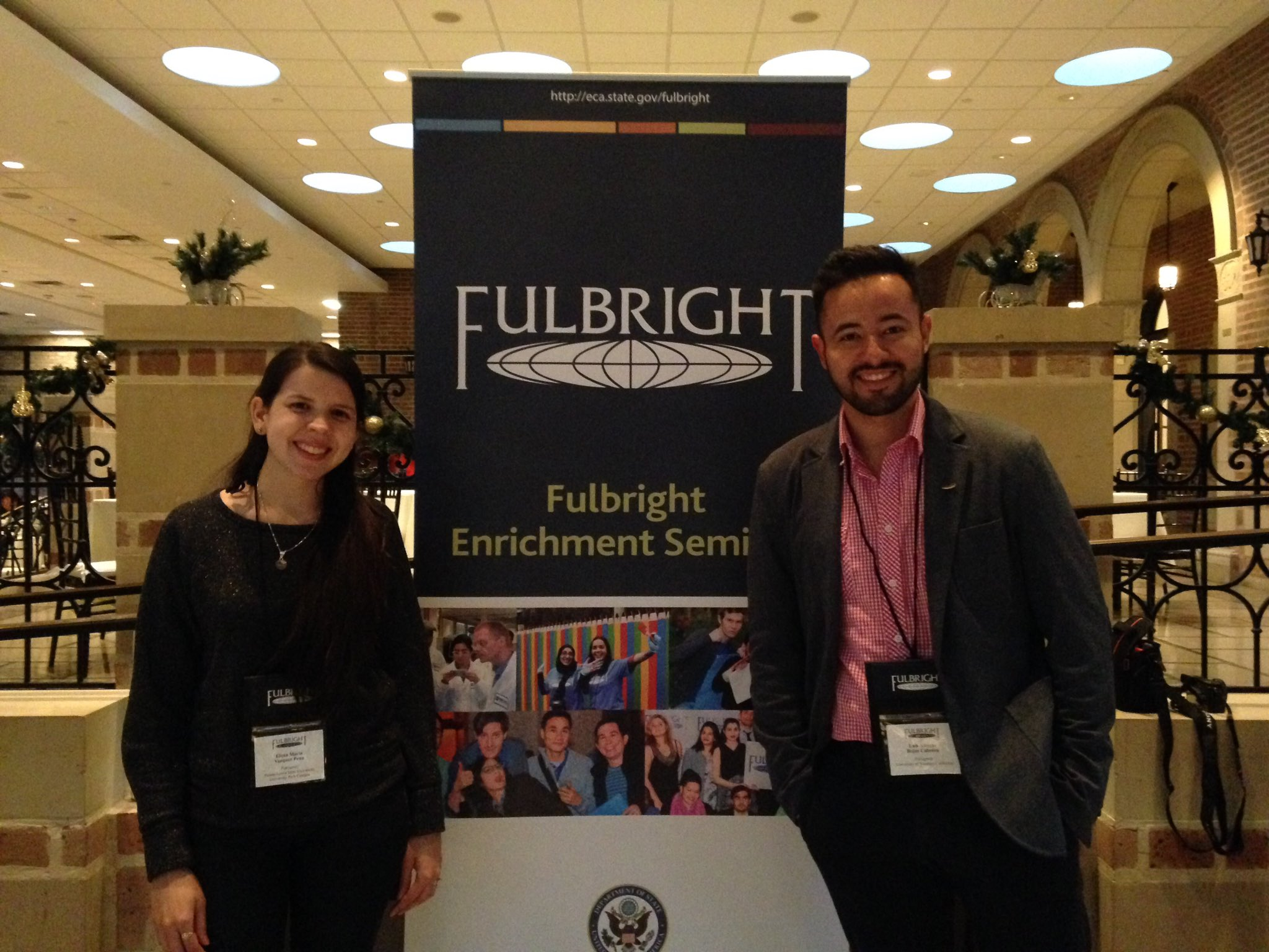 Paraguayitos en el 2016 Fulbright Enrichment Seminar - Innovation  & Entrepreneurship #fulbrighthouston2016 #fulbright https://t.co/omrxwWJQCd
