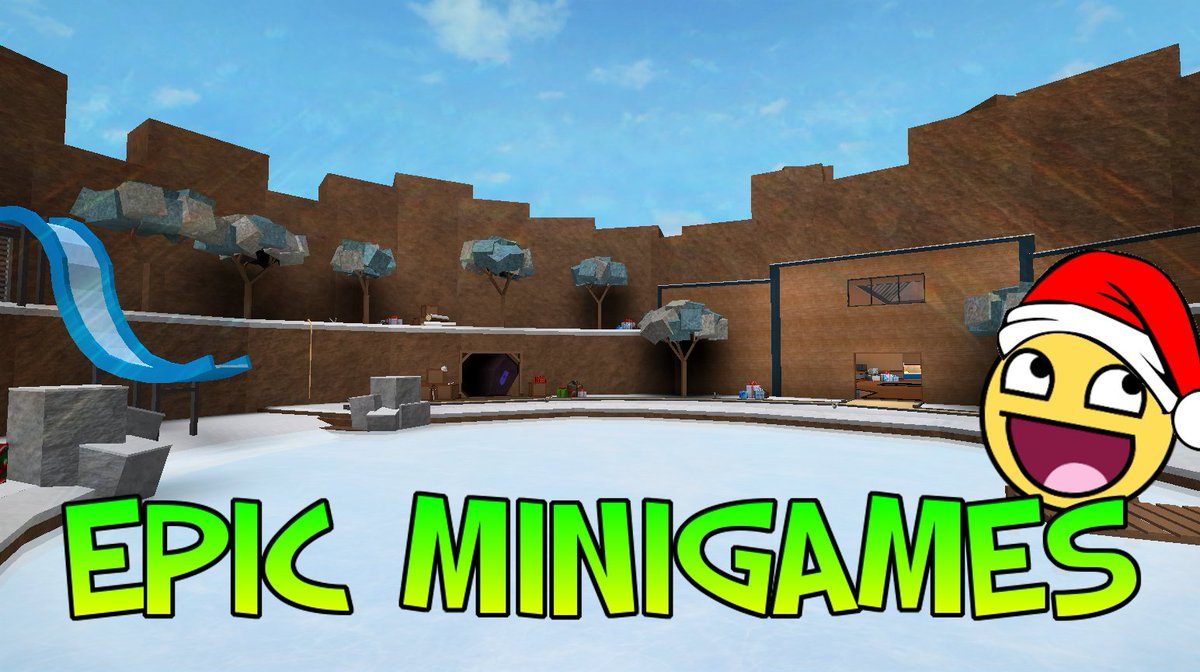 Typicaltype On Twitter The Epic Minigames Christmas Update Has