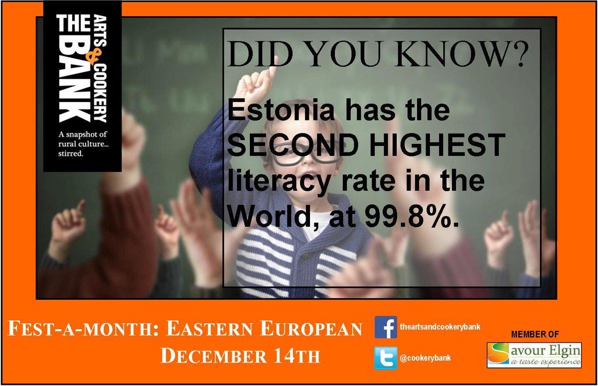 A fact about Estonia!
