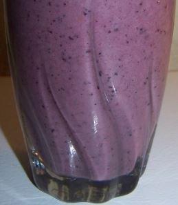 Avocado and Blueberry Smoothie