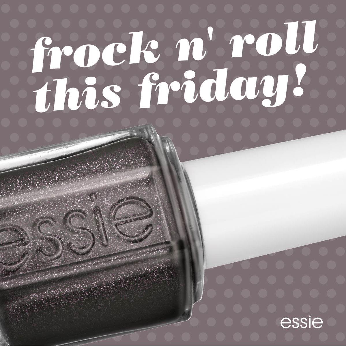 ¡Ya es viernes y es momento de frock n' roll! #essie #FridayFeeling https://t.co/PiMGn5nMyH