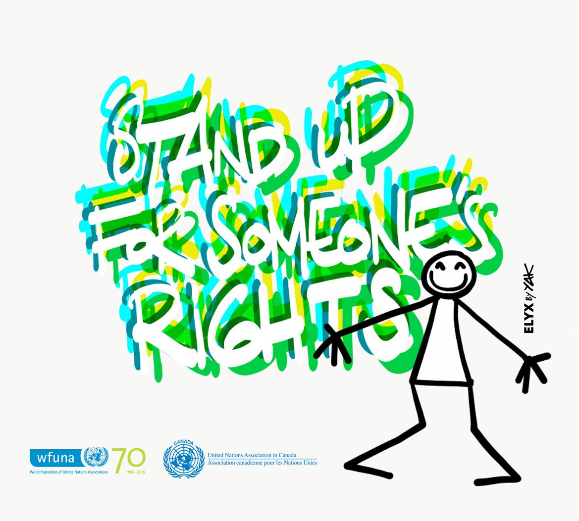 December 10th is #HumanRightsDay. Stand up for someone's rights and have a very happy holidays.#StandUp4HumanRights  #UNAs4HumanRights https://t.co/wfasw6l7kh