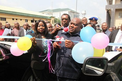 In what was described as buying the judges over ahead of the upcoming Rivers rerun election, Wike has doled out 35 SUVs to State High & Customary Judges
