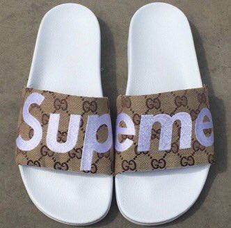 Supreme X Gucci Slide Twitter Com 04g0c3pdun