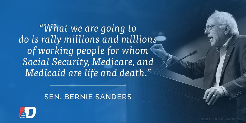 Join @BernieSanders in the fight to protect the social safety net!