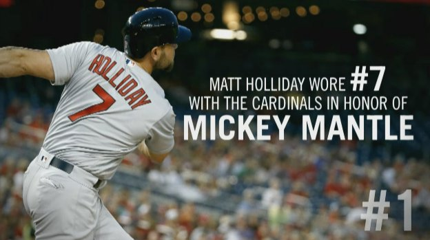 Happy birthday, Matt Holliday. The new Yankee was born on this day in 1980.