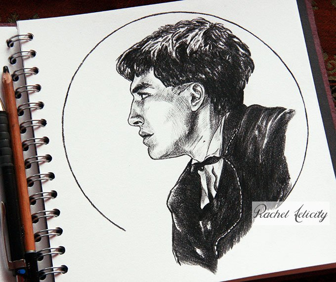 Rachel Felicity On Twitter Sketch Of Credence Barebone Ezra