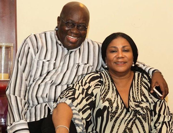 POGHA and FLOGHA. President of Ghana and First Lady of Ghana