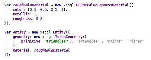 xeogl - a data-driven 3D engine on WebGL