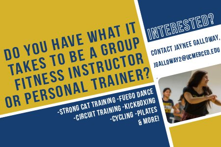 "uc merced recreation on twitter: ""apply today to become a group ..."