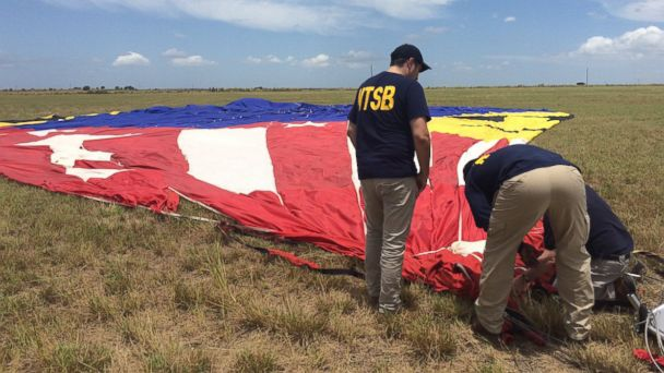 7 drugs found in system of hot air balloon pilot in deadliest U.S. crash, according to NTSB