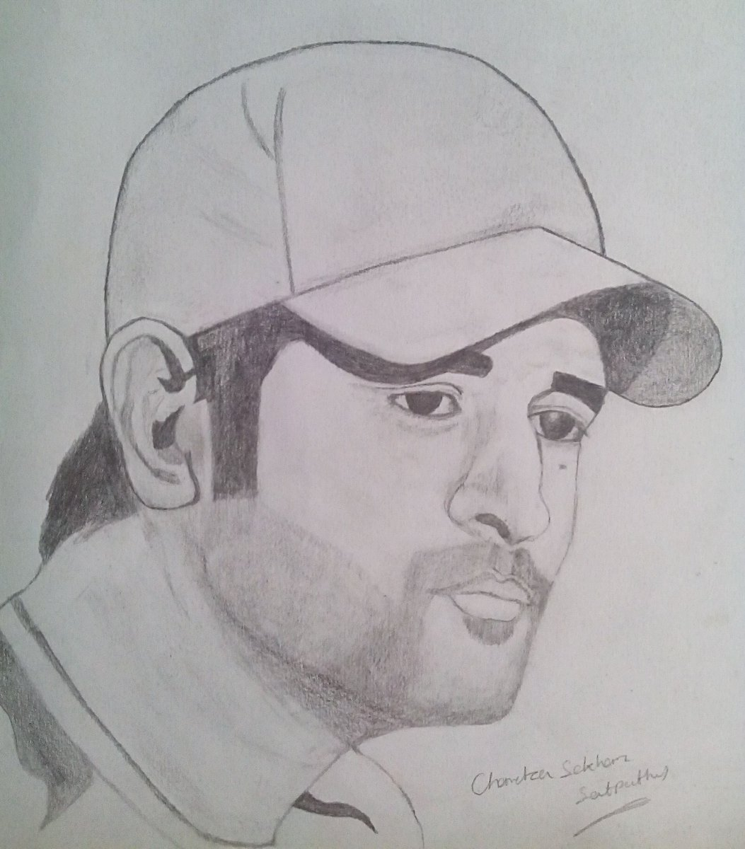 Fanart msdhoni mahi like retweetpic twitter com nmzeofmk68