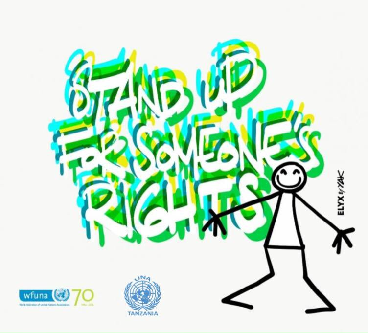 Join #UNAs4HumanRights around the world to celebrate #HumanRightsDay | #Standup4HumanRights Cc @WFUNA https://t.co/D1qicnj6ad