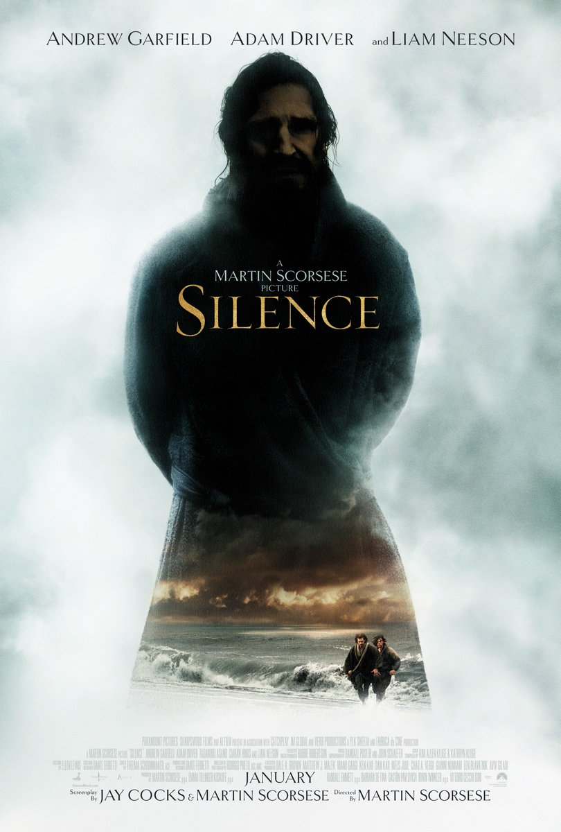 Want tickets to Silence, the new historical drama? RT for a chance to win!! https://t.co/QHvWuqeEYn