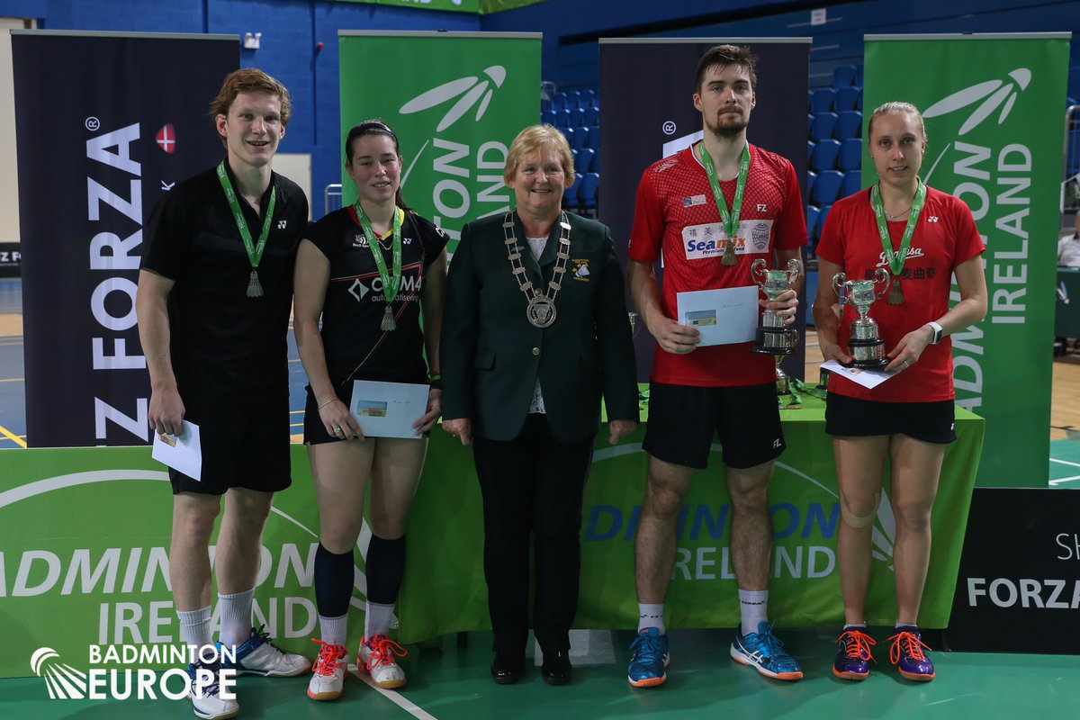 "Badminton Europe on Twitter ""Congrats Mathias Christiansen Sara"