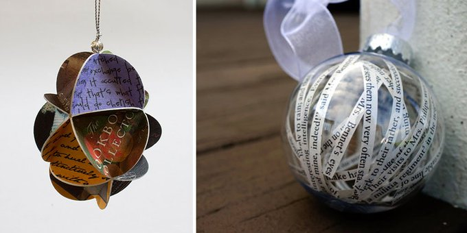 19 Literary Ornaments Bookworms Will Love
