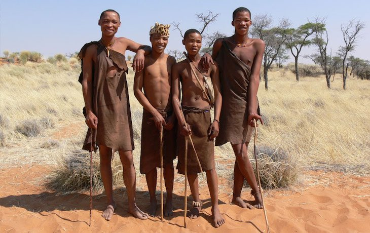 People of botswana San