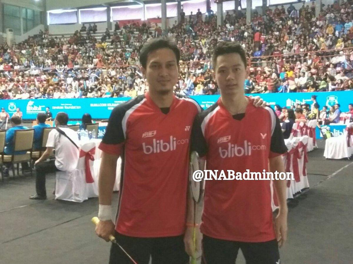 "BADMINTON INDONESIA on Twitter ""Mohammad Ahsan Kevin Sanjaya"