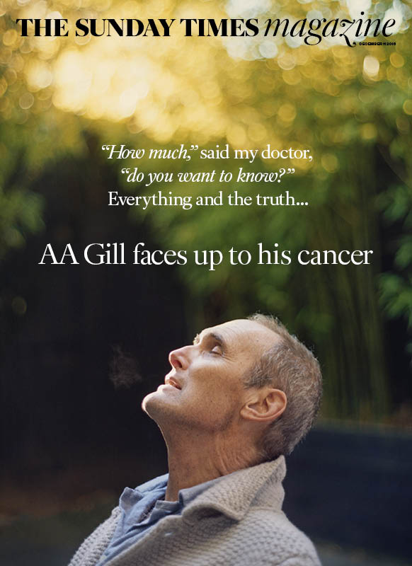 Tomorrow:  AA Gill on coming to terms with his mortality https://t.co/ESWbmuEWOV  @eleanormills https://t.co/xywhMagwoK