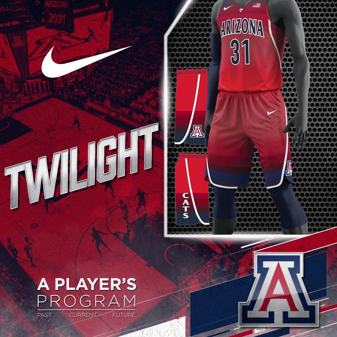 finest selection d7e2f 5a6be Arizona Basketball on Twitter: