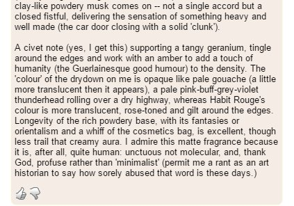 looking at reviews of cologne on a perfume website - absolutely dying at some of these https://t.co/VLlUFmAhHb