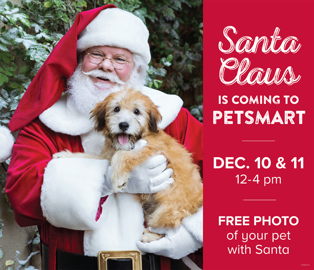 Petsmart with at pictures santa pet