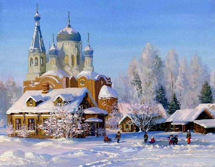 Православные храмы открытки