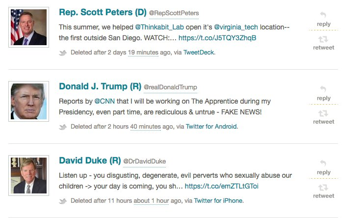 Reminder: you can see deleted tweets from politicians at Politwoops! https://t.co/kygdy8Q3q1 https://t.co/FuCkriqwyK