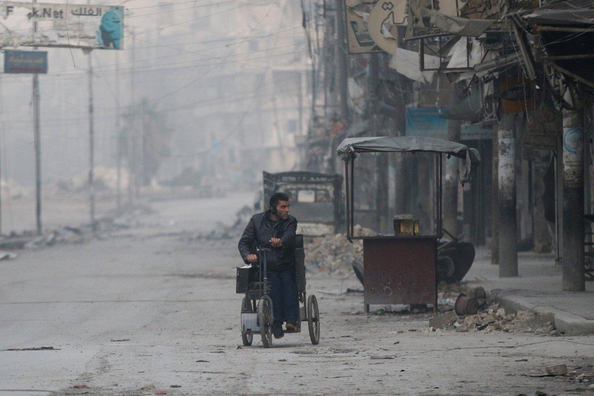 Штурм Алеппо. 10.12.2016