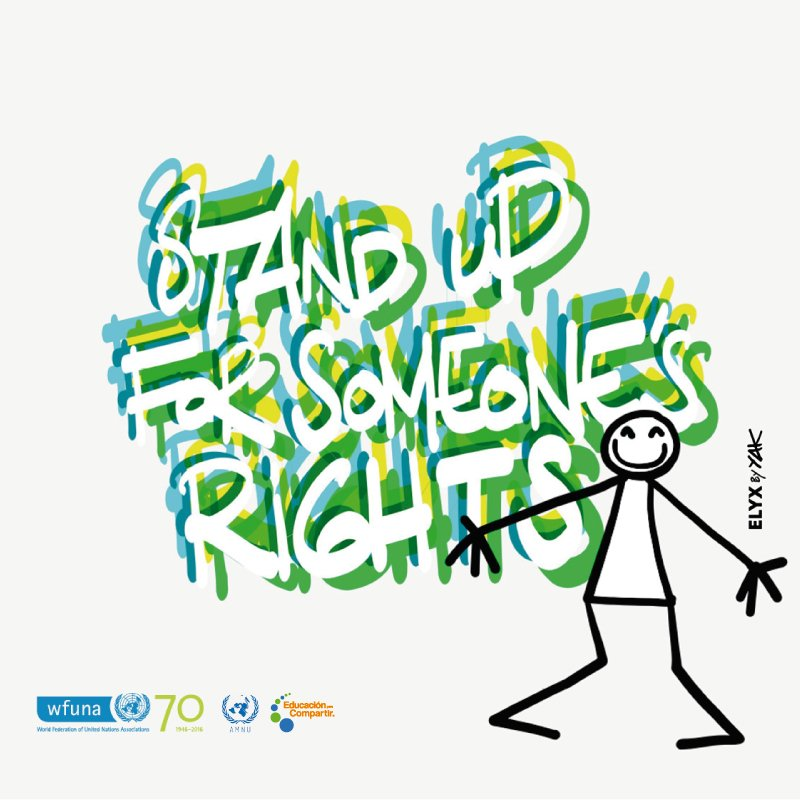 Today is #HumanRightsDay! Ever wondered how you can #Standup4HumanRights? Here are a few ways: https://t.co/9YwM8GZQf1 #UNAs4HumanRights https://t.co/ZMMHIDneFC