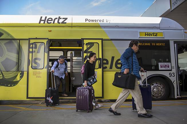 With Uber and Lyft nearby, rental cars may be ripe for a comeuppance