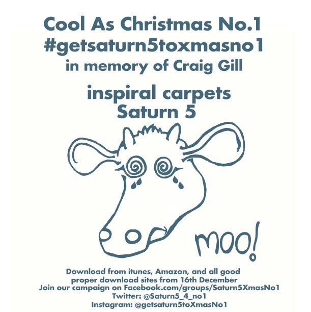 In memory of Craig Gill #GetSaturn5ToXmasNo1 (download from December 16th!) https://t.co/OxT7lENCgw