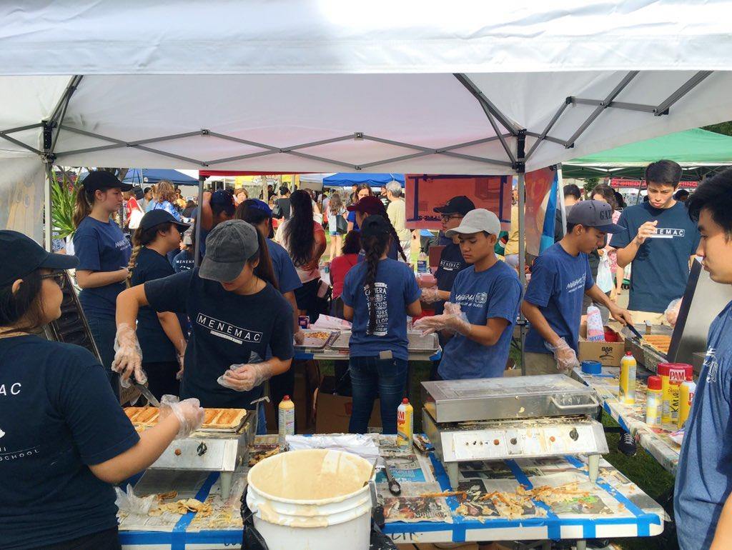 Moanalua High School Craft Fair