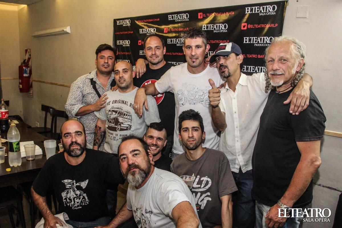 #NocheRicotera La banda #EtiquetaNegra pasó por El Teatro Sala Ópera y llenó la sala con su #tributo a los REDONDOS<br>http://pic.twitter.com/9zWyfIkM5J