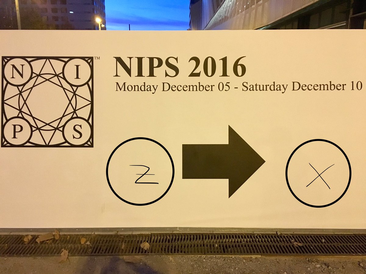 A sign of a lot of generative models at #nips2016 #gan #vae