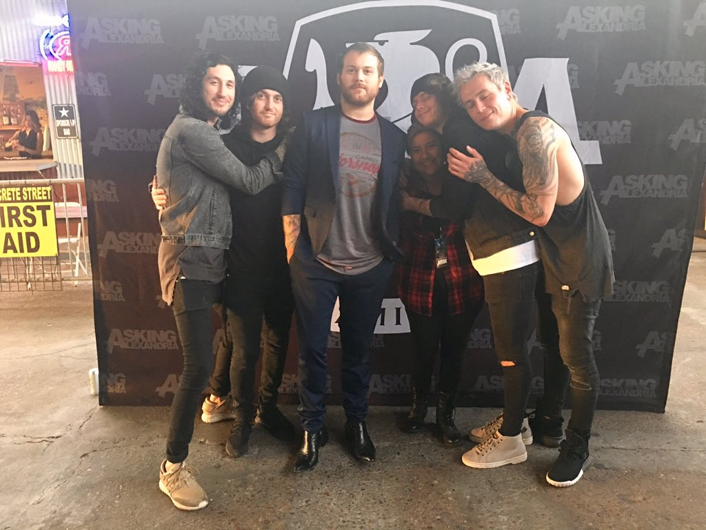 Asking Alexandria On Twitter Our Meet And Greets Have Been A
