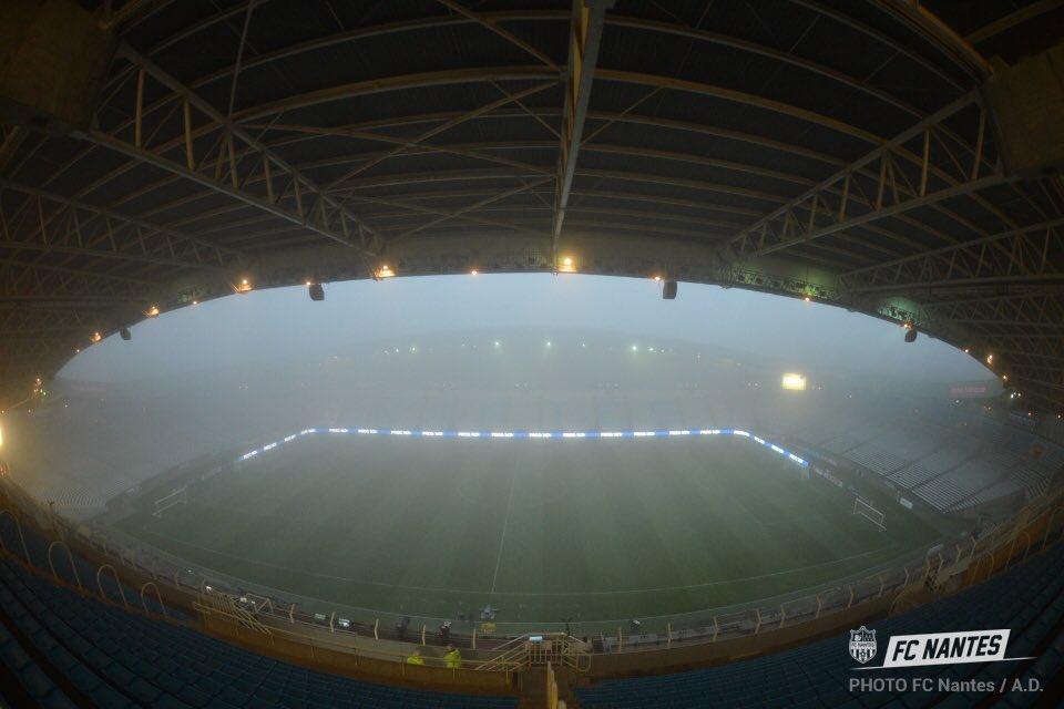 Матч Нант - Кан отменен из-за тумана - изображение 1