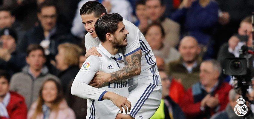 هدف ديبورتيفو الثاني في مرمي ريال مدريد