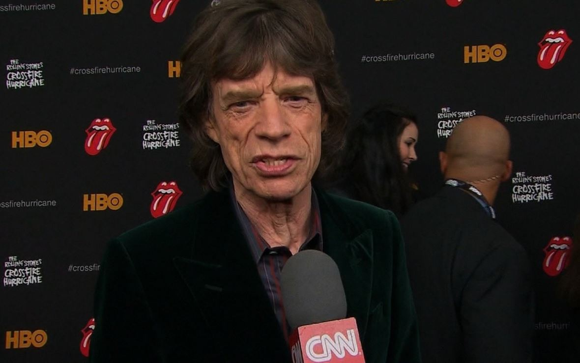 Mick Jagger's family just got a lot more complicated. >