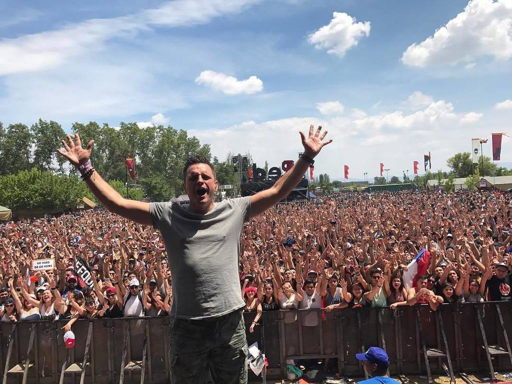 Defqon Chile, no words... what a vibe!! Thanks for the crazy ass party!!! #defqon1chile