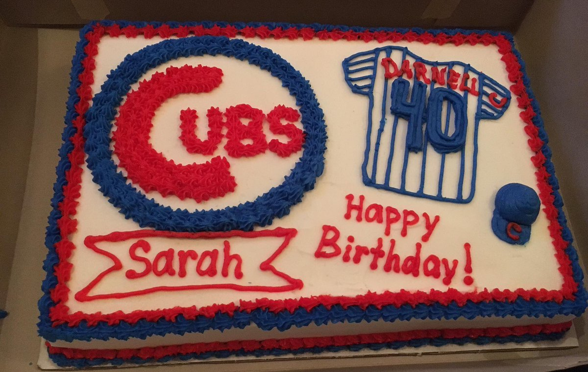 Chicago Cubs On Twitter Happy Birthday Sarah