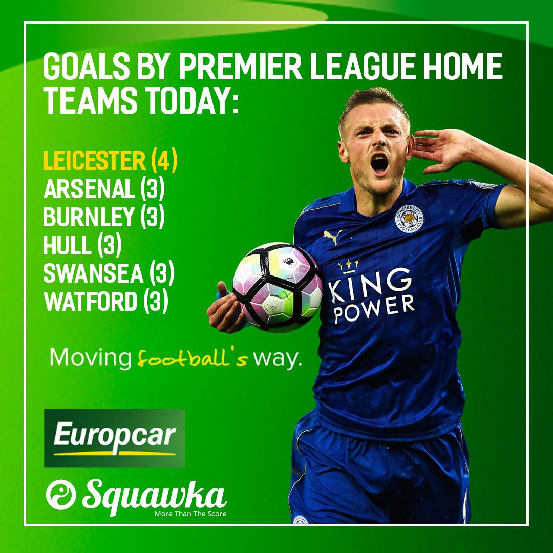 premier league goals today