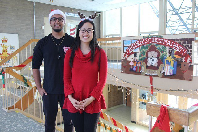 PHOTOS: Vincent Massey's Annual Children's Christmas Party https://t.co/L4MzlosECz #YQG https://t.co/4jjC4EBZol