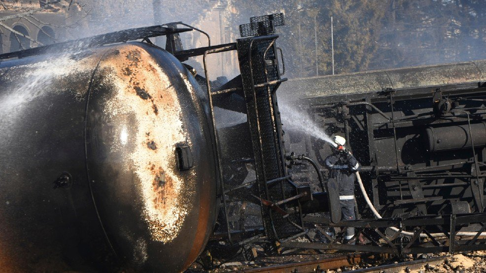 7 killed, 29 injured in Bulgarian tanker train explosion