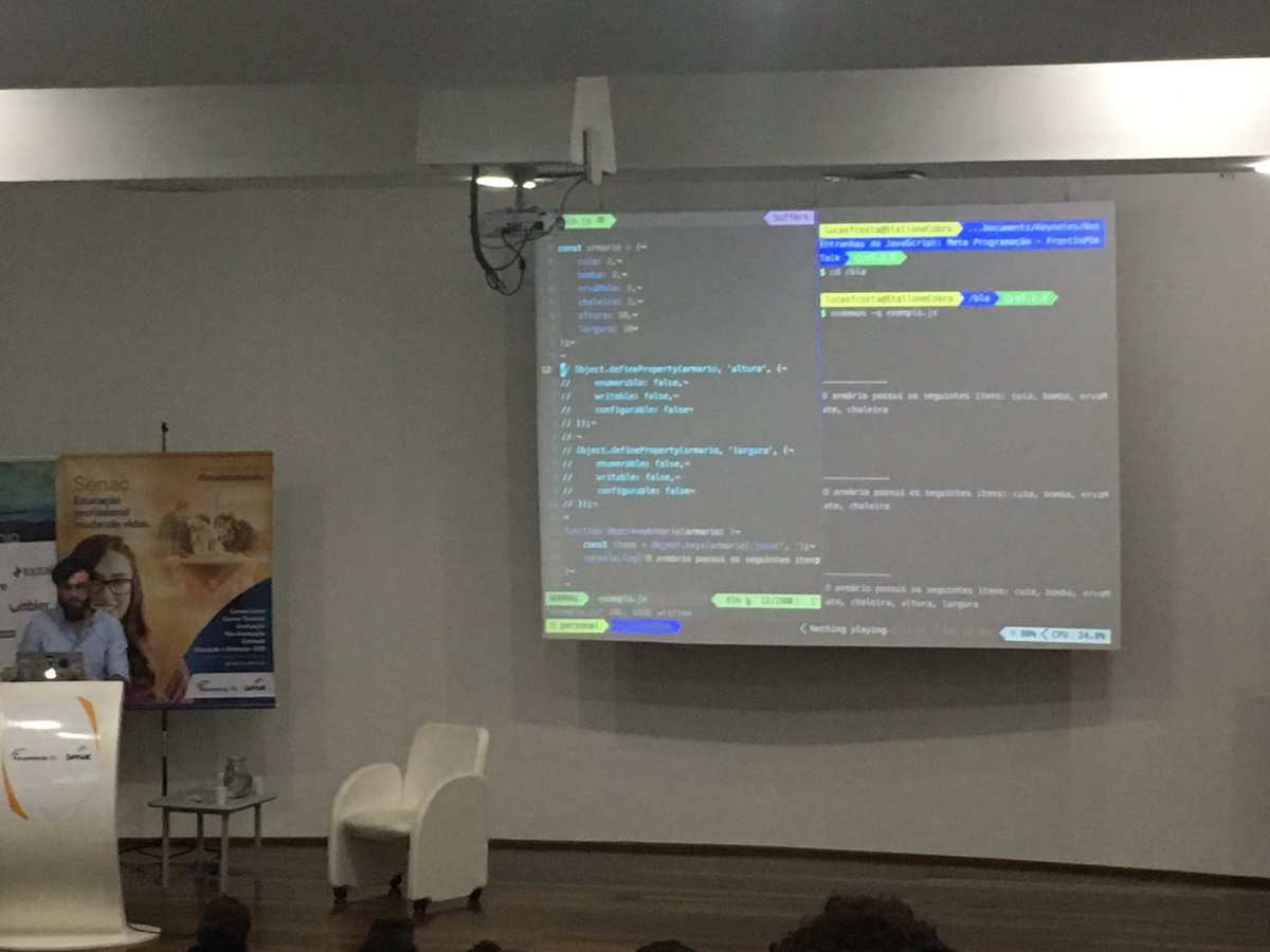 live coding with vim