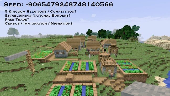 By Photo Congress || Seeds For Minecraft Education