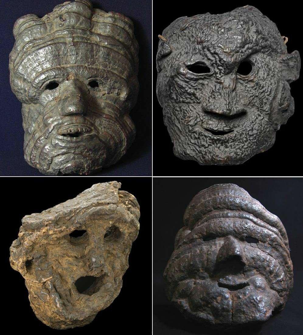 Apotropaic Nepalese Fungus Masks https://t.co/iibgfymFOw